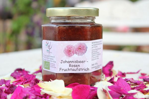 johannisbeer rosen fruchtaufstrich rosenschule ruf. Black Bedroom Furniture Sets. Home Design Ideas