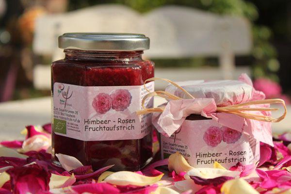 himbeer rosen fruchtaufstrich rosenschule ruf. Black Bedroom Furniture Sets. Home Design Ideas
